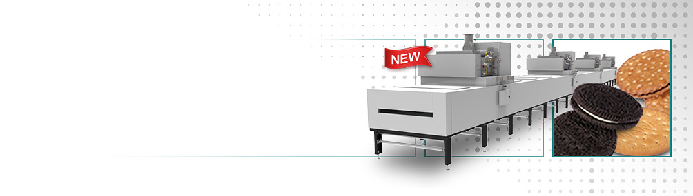 <b>NEW TruBake™ Convection Oven</b><p>An enhanced direct convection heating system to achieve exceptional product quality & high throughput.