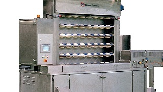 Proving for Industrial bakery equipment
