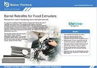Technical Bulletin: Barrel Retrofits for Food Extruders
